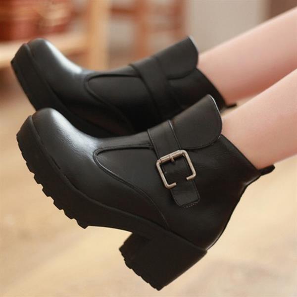 4131bb256b71 Интернет магазин обувь женские сапоги на толстой подошве   Всякая ...