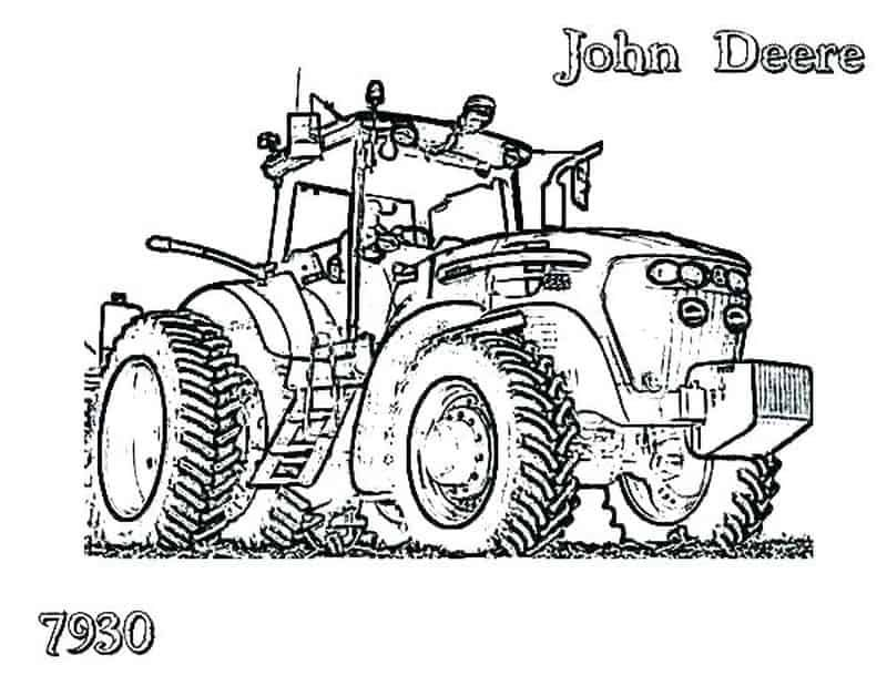 Printable Tractor Coloring Pages For Kids Free Coloring Sheets Tractor Coloring Pages Coloring Pictures Online Coloring Pages