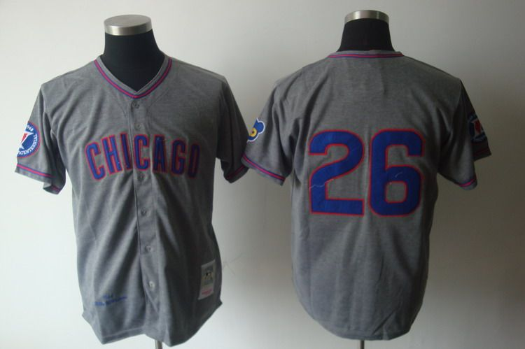 518b1b9f8c6 ... best price mitchell and ness 1968 cubs 26 billy williams grey  embroidered throwback mlb jersey21. hot billy williams jersey 1969  throwback chicago ...