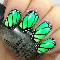Erfly Wing Nail Art Wings Designs Health And Beauty