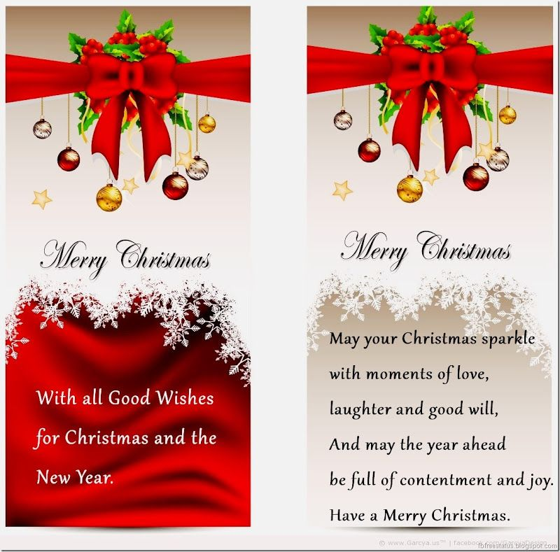 Christmas Card Messages, Greetings Images Christmas card - christmas greetings sample