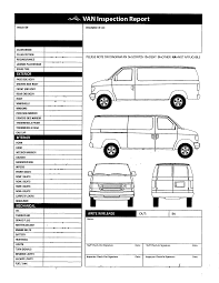 Image result for free van body inspection form in 2020