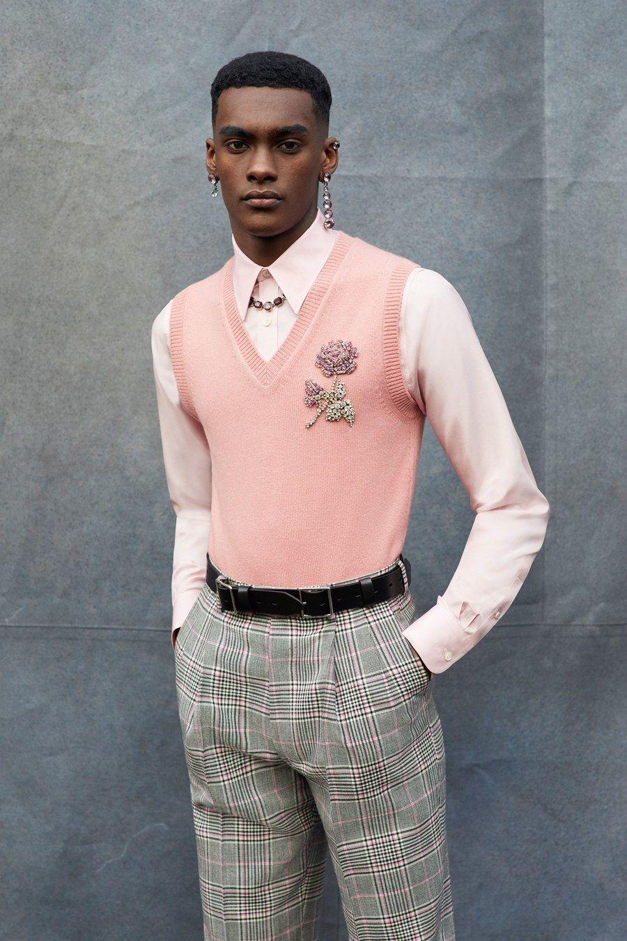 Alexander McQueen Fall 2019 Menswear Fashion Show – boys