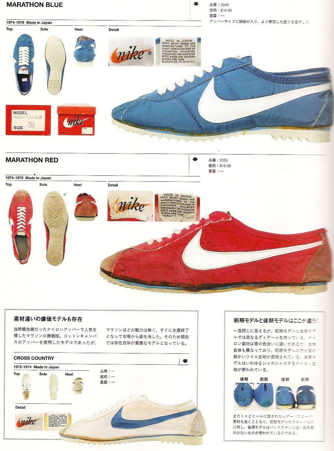 premium selection 31f95 edd81 Nike Marathon - 1972