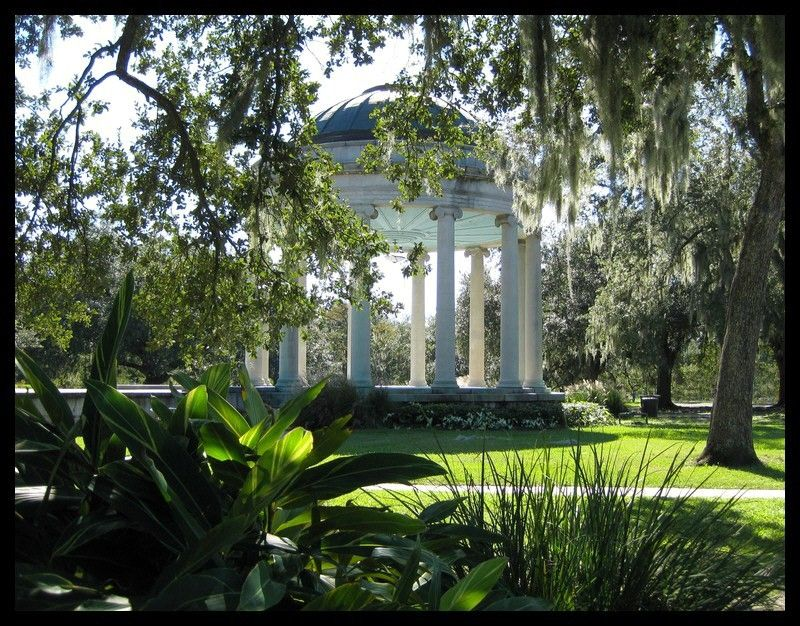 The Gazebo in City park can be rented for a larger wedding or one can gather with a few witnesses for free. The gazebo is not always available for free weddings and is sometimes overrun with children.