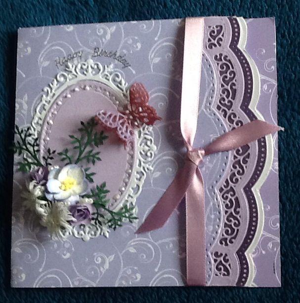 Spellbinders brackets used on this card