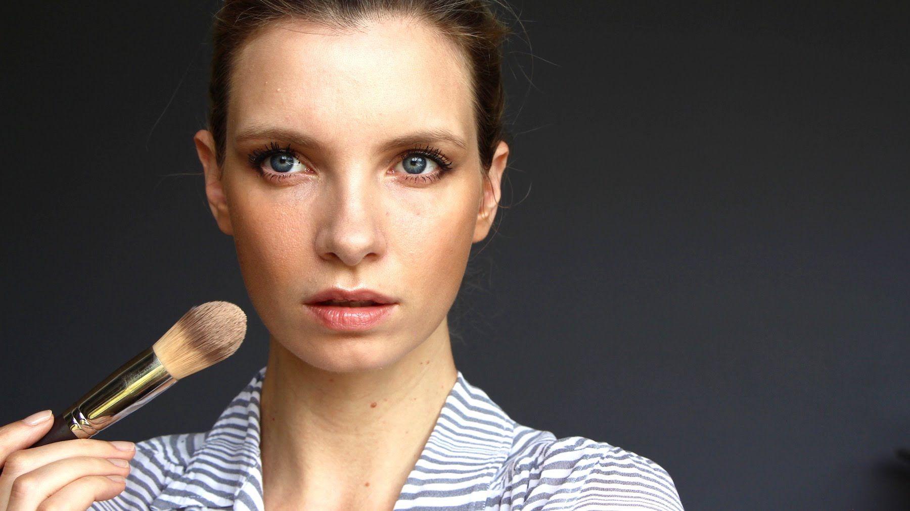 Sheer and Natural Everyday Makeup A Model
