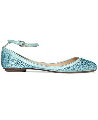 ec094e9ab19a Blue by Betsey Johnson Joy Evening Flats - Betsey Johnson - Shoes - Macy s