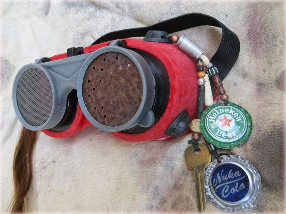 PostApocalyptic Raider Goggles by CryoDrome on Etsy, $25.00