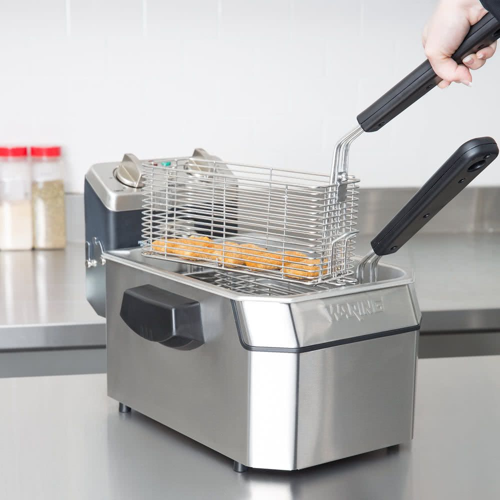 Waring Wdf1000 10 Lb Commercial Countertop Deep Deep Fryer