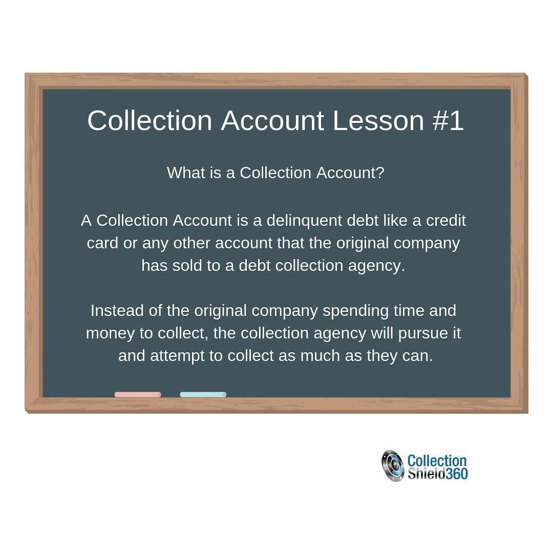 Know Your Credit Report. Collection Account Lesson 1