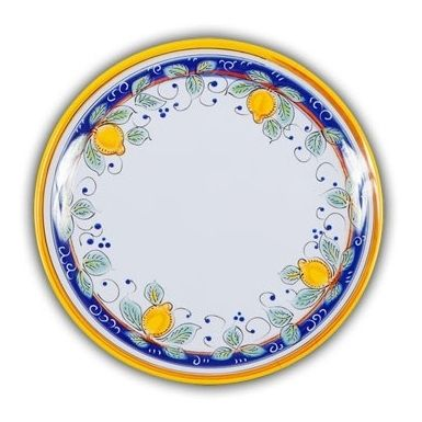 Picnic Alcantara Dinner Plate. Heavy Duty Melamine With Italian Pattern And  Perfect For Outdoor Dining