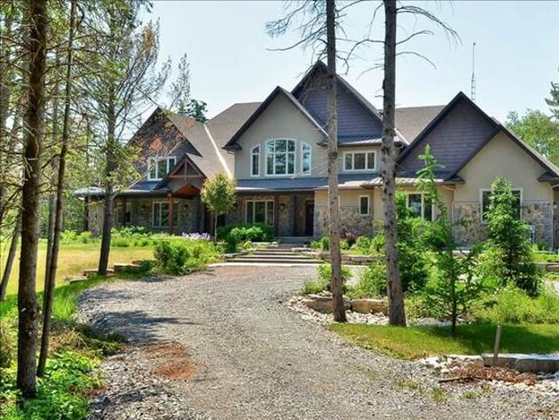 Carrie Underwood House Tour Carrie Underwood\u0027s Home in Canada
