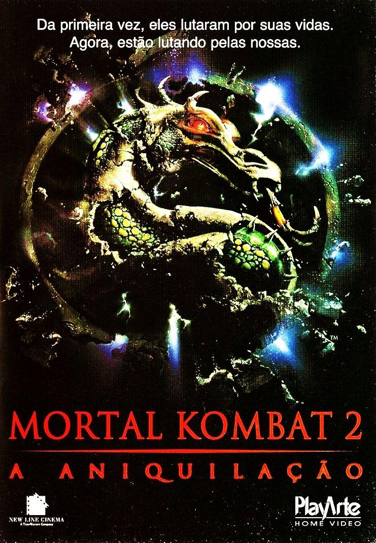 Mortal Kombat 2 A Aniquilacao John R Leonetti 1997 Com