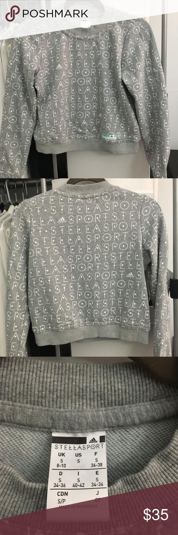 Oceanía Cordelia Autenticación  Adidas Stella McCartney Crop Sweatshirt in 2020 | Stella mccartney adidas,  Crop sweatshirt, Stella mccartney