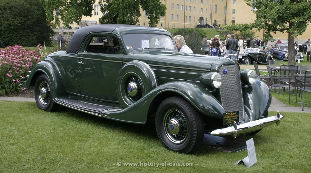 1935 Lincoln K-Series LeBaron 2door Coupe