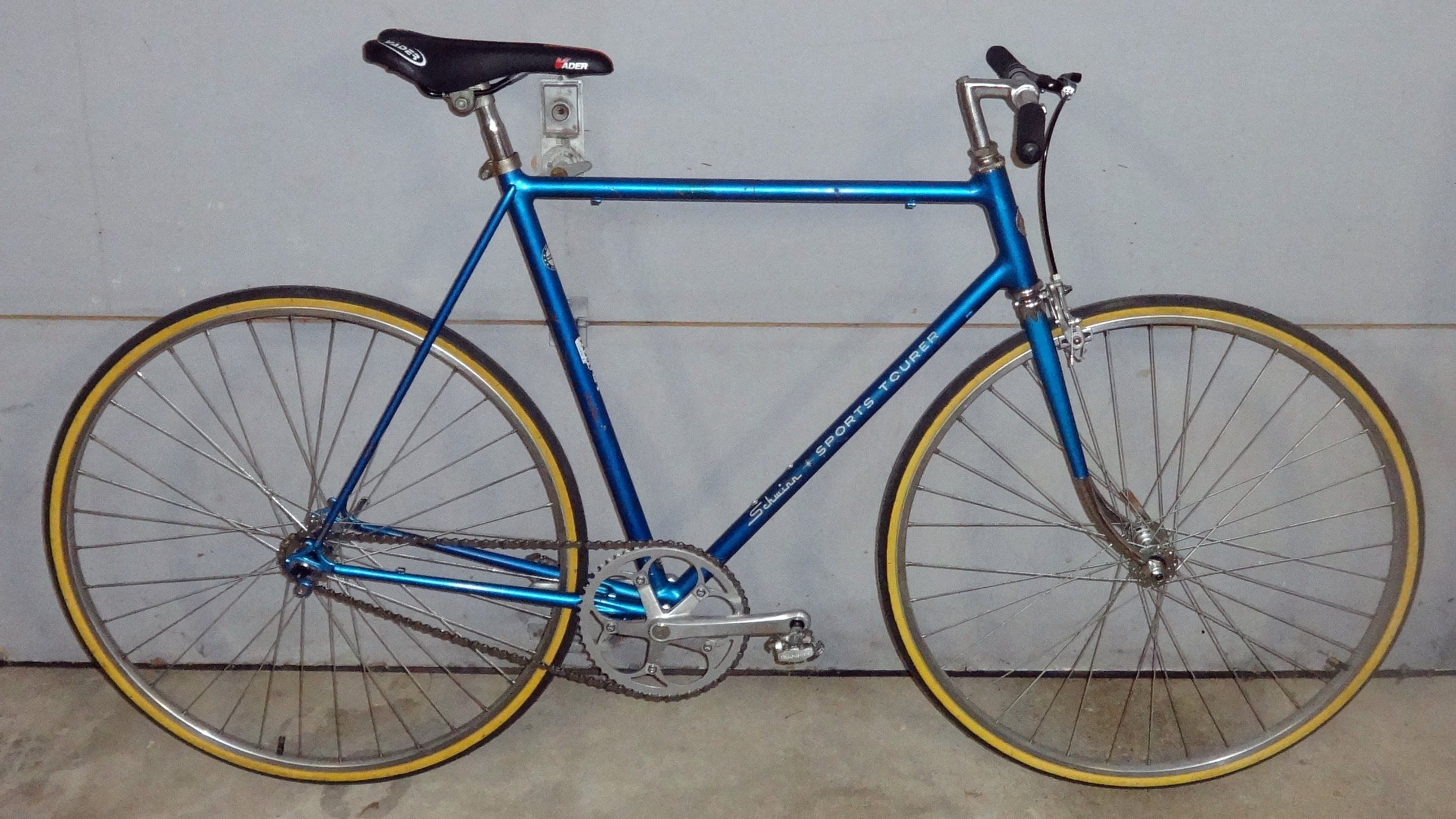 How To Build A Cheap Fixie From A Vintage Bike Single Gear Bike