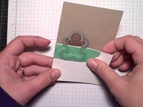Marque ta page... partial die cut placecard
