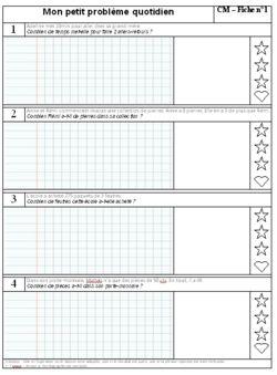 Petit Problème... : petit, problème..., Rituels, Cycle, (page, Maitresse, Myriam, Leçons, Mathématiques,, Problème, Maths