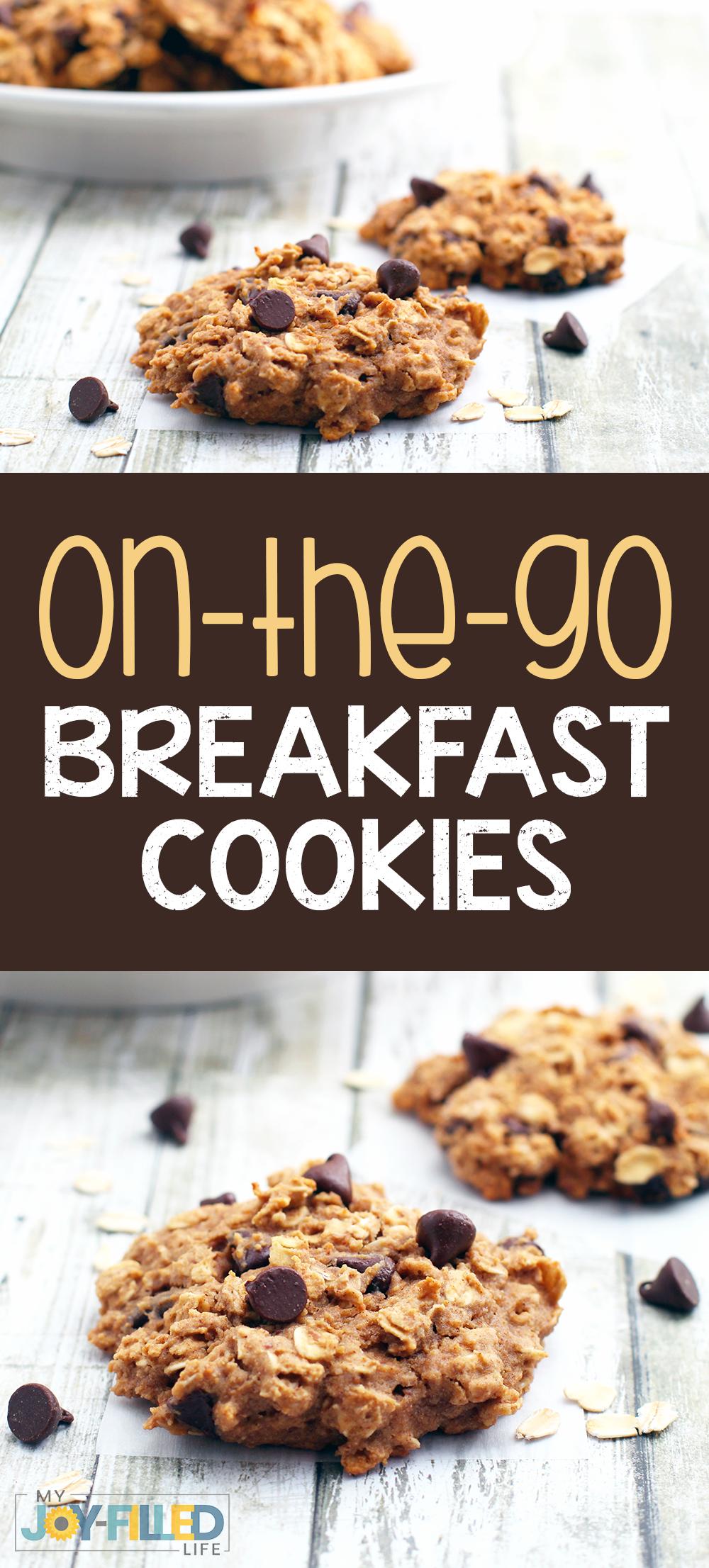 Frühstückskekse für unterwegs - My CMS