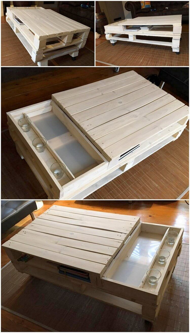 Ehrfürchtige DIY-Ideen für die Wiederverwenden von Holzpaletten ...
