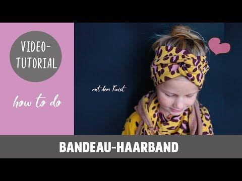 Tolles Bandeau-Haarband ganz einfach selber Nähen DIY-Näh-Tutorial #sommerkleidselbernähen