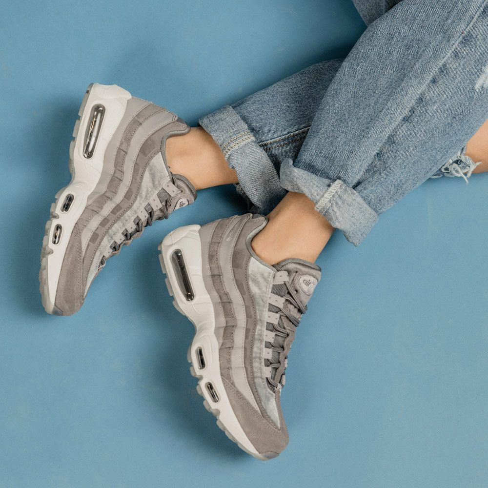 80750339246 Nike air max 95, Gunsmoke velvet pack. Footasylum Women's | nike in ...