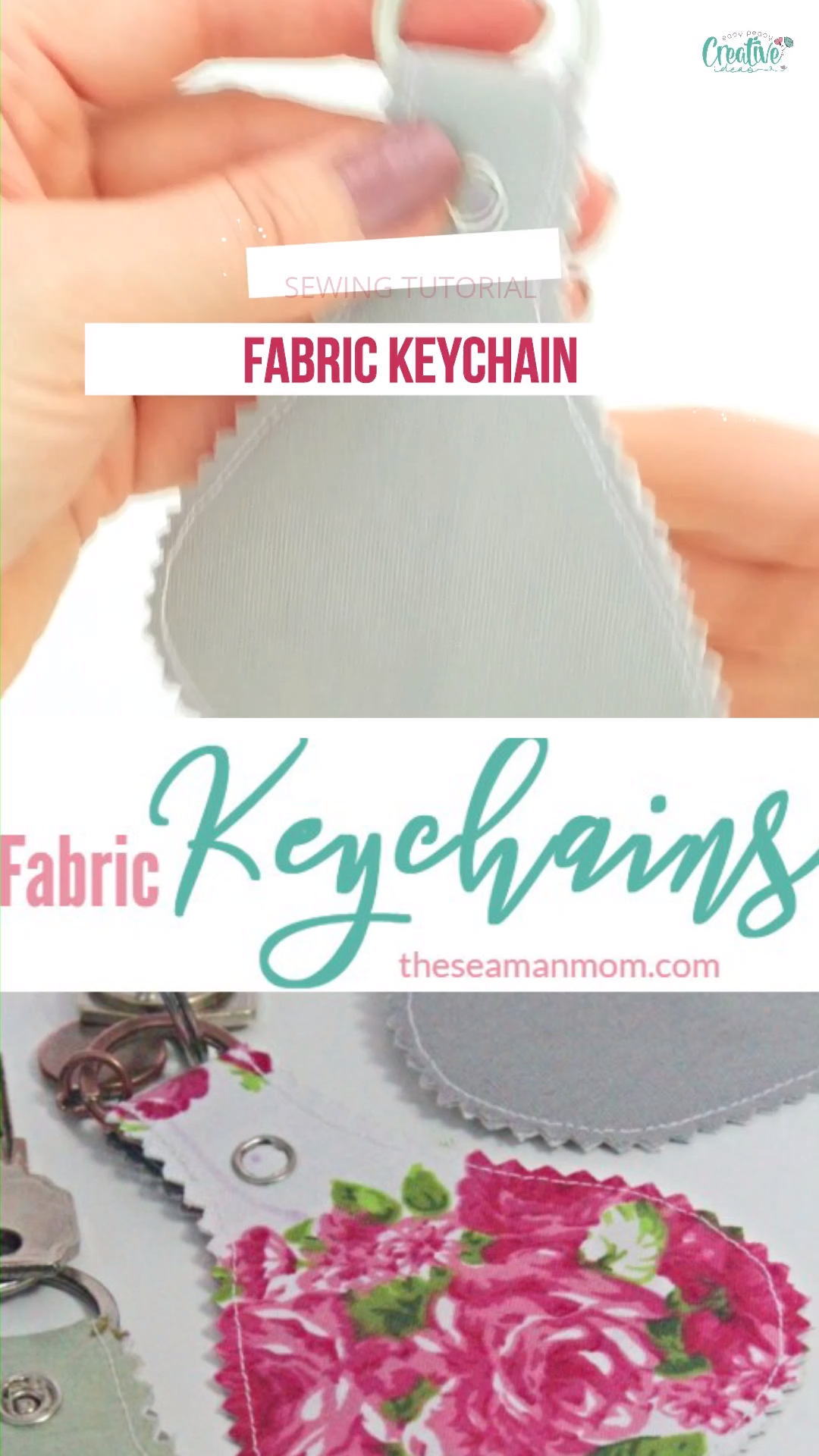 Photo of FABRIC KEY CHAIN SEWING TUTORIAL