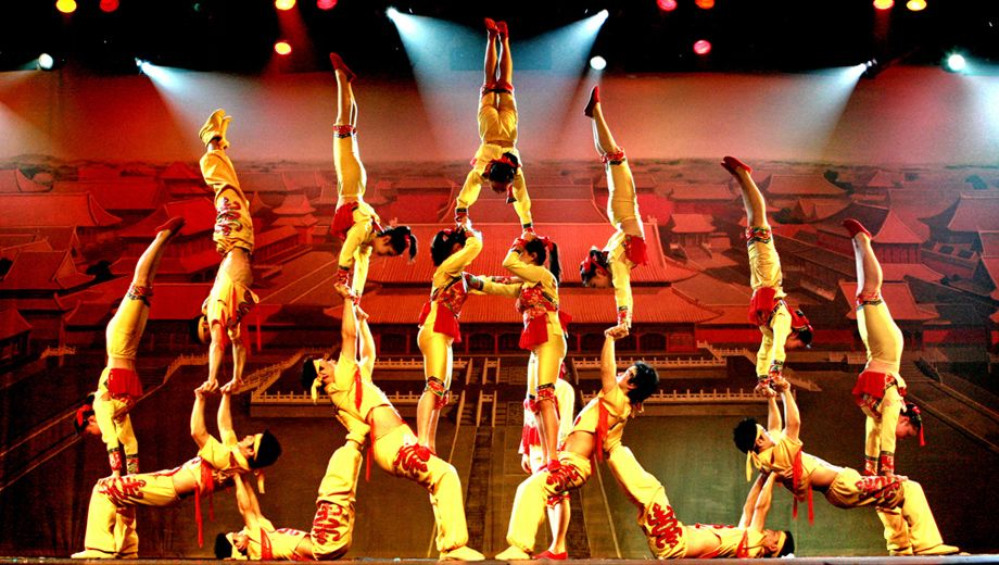 The New Shanghai Circus Featuring The Shanghai Acrobats of