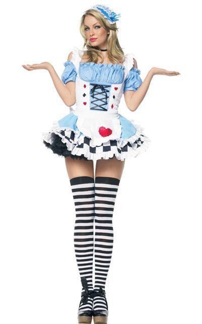 30f4bcc9f4 Adult Miss Wonderland Costume - Party City