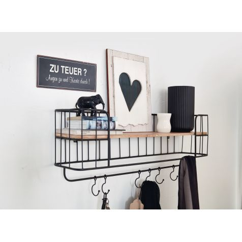 wandregal industrial look katalogbild merken. Black Bedroom Furniture Sets. Home Design Ideas