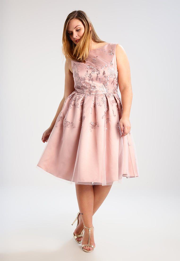 Chi Chi London Curvy DARLENE - Sukienka kokta… | Sukienki wieczorowe ...