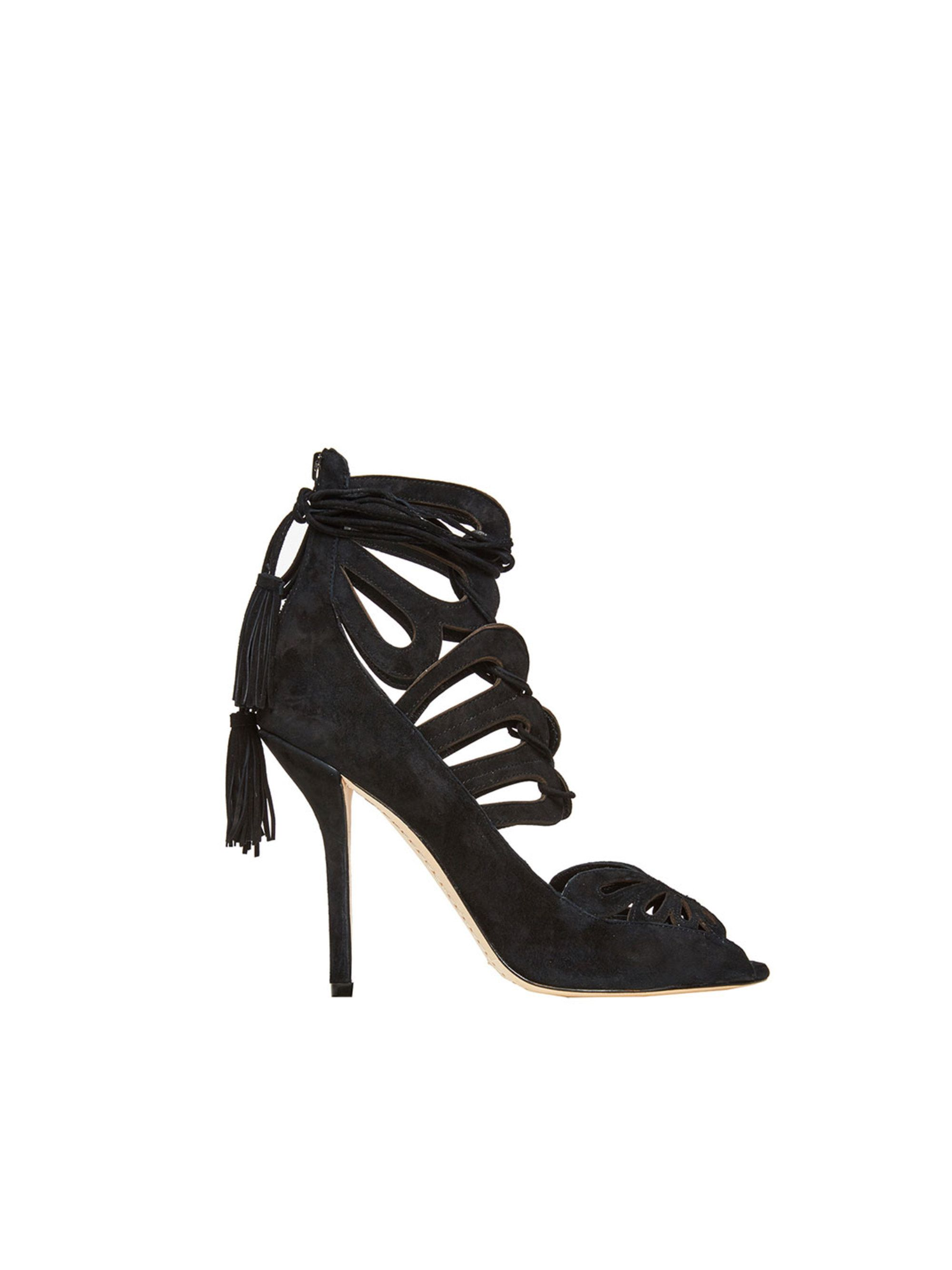 6b4e24ad03 BLACK NATALIE HEEL by Alice + Olivia Black High Heel Sandals, Black Pumps,  Sexy