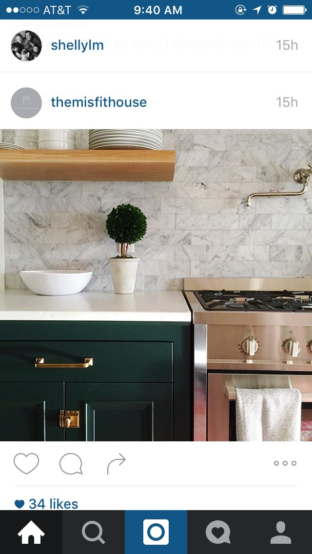 Black Forest Green Benjamin Moore Kitchens In 2019 Green Kitchen