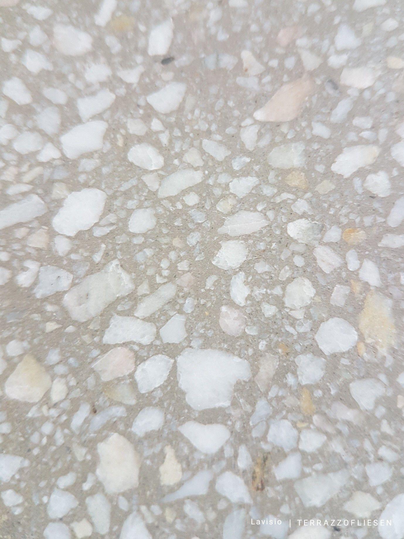 Terrazzo fliesen 30x30 sch ner dezenter terrazzoboden in - Granitfliesen restposten gunstig ...