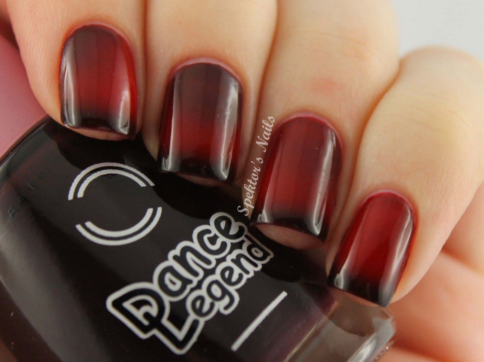 Dance Legend #170: Thermo nail polish that changes from dark purple ...