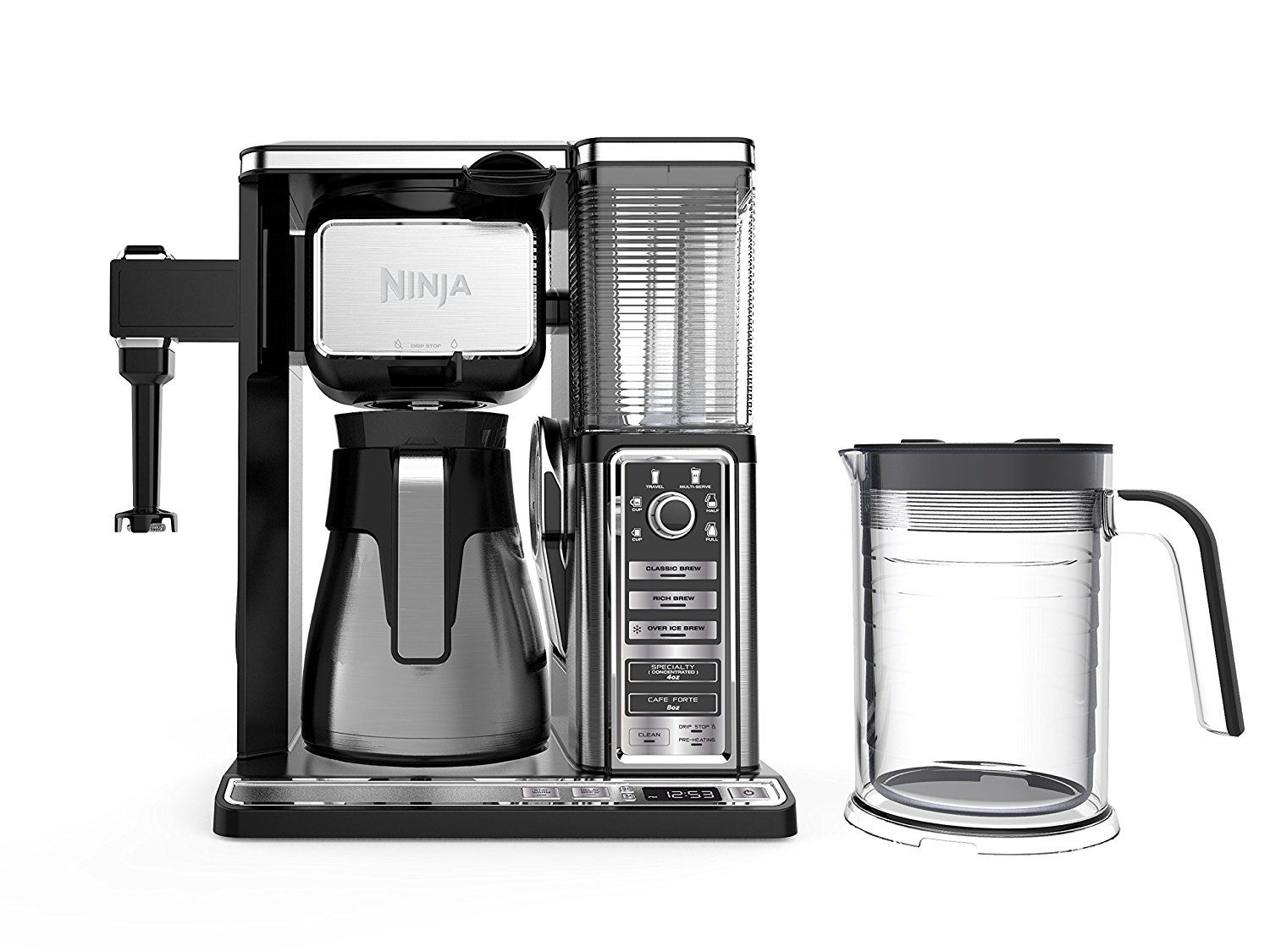 Ninja coffee bar brewer system with stainless thermal