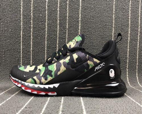 sports shoes eed4b 2262f Where To Buy Bape x Nike Air Max 270 Black Camo - Mysecretshoes