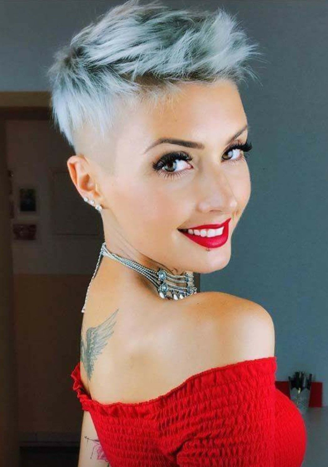 Pin by mary franco on cut hair pinterest short hairstyle