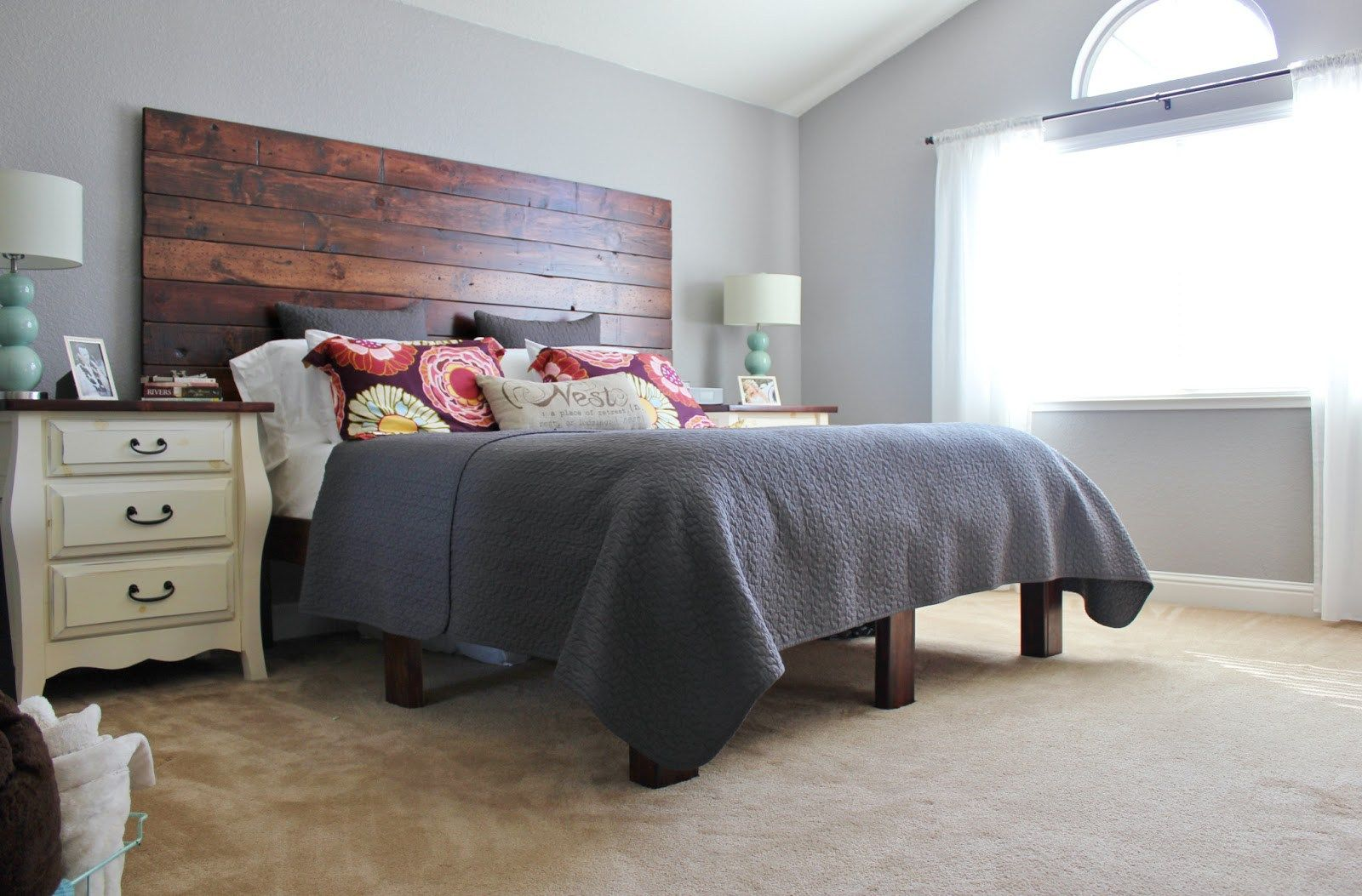 At Home With The Hansens Diy The 100 Platform Bed Box Spring within ...
