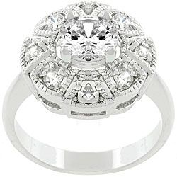 @Overstock - Click here for Ring Sizing ChartRing is crafted of white gold- and rhodium-bonded metalAntique milligrain style ringhttp://www.overstock.com/Jewelry-Watches/Kate-Bissett-White-Gold-Bonded-Metal-Queen-Mary-CZ-Ring/3431087/product.html?CID=214117 CAD              25.57