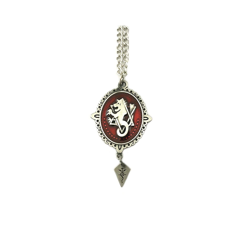 Fma fullmetal alchemist crunchyroll anime pendant necklace