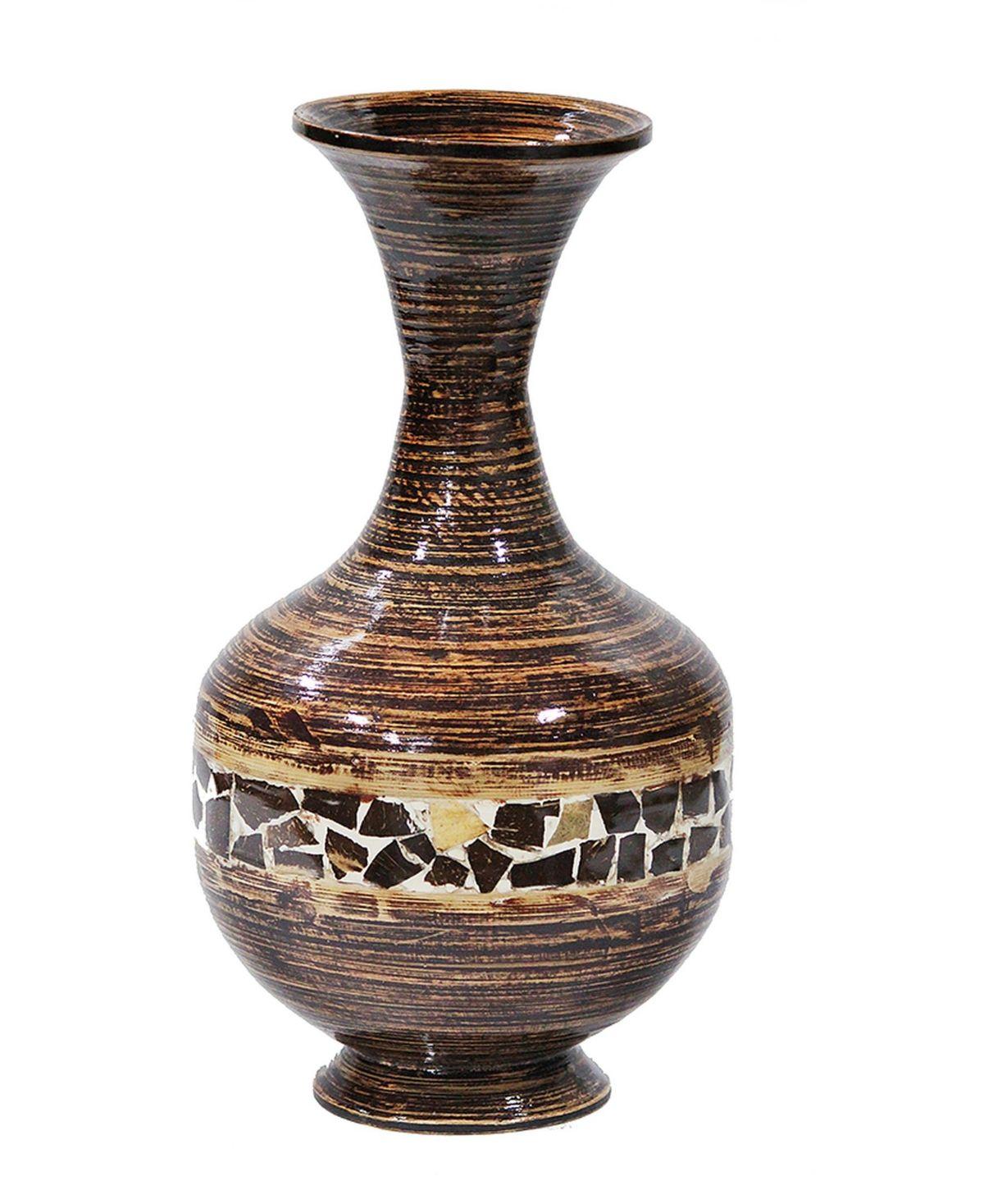 Heather Ann Creations Cora 22 Bamboo Vase Reviews Vases Home Decor Macy S Floor Vase Bamboo Flooring Large Vase