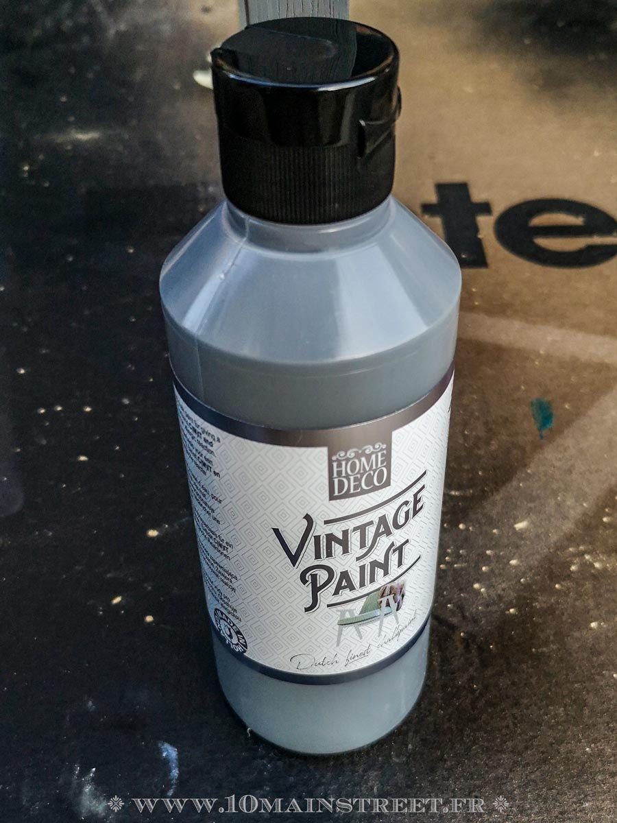 La vintage paint chez Action : test dun produit sympa