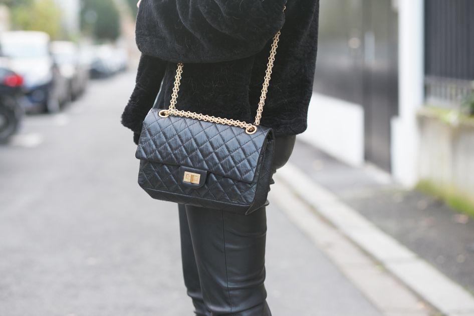 97dbf0d7c7 Sac Chanel 2.55 noir