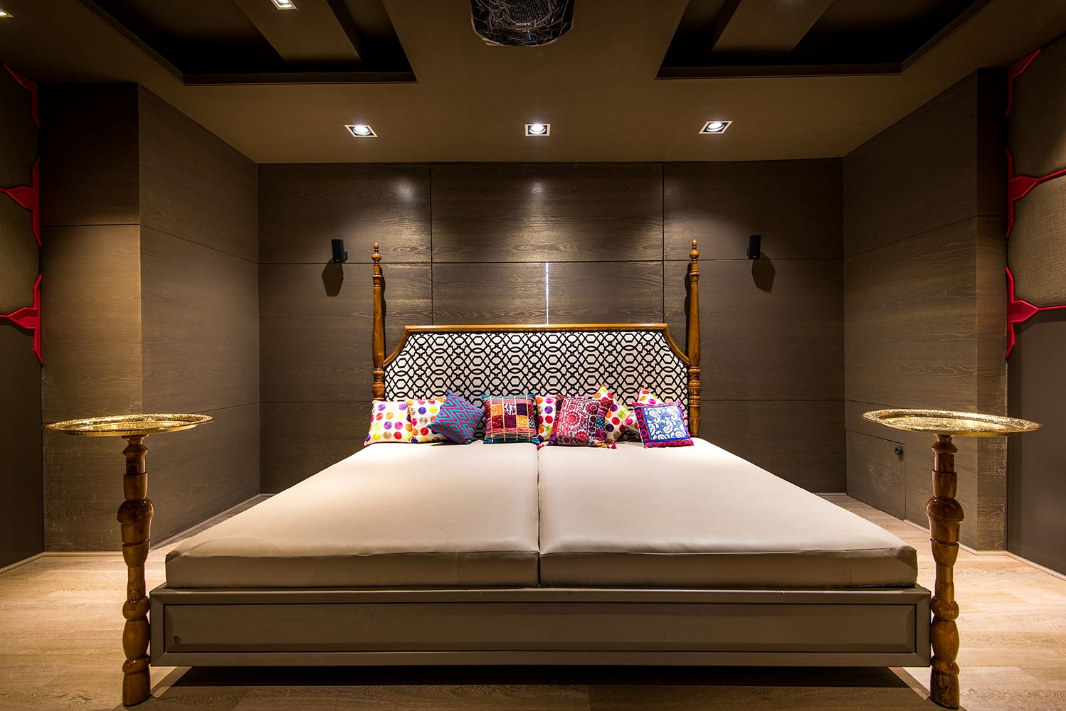 Pin By Shantanu Garg Design On Residential Project Transitional - Traditional indian bedroom designs