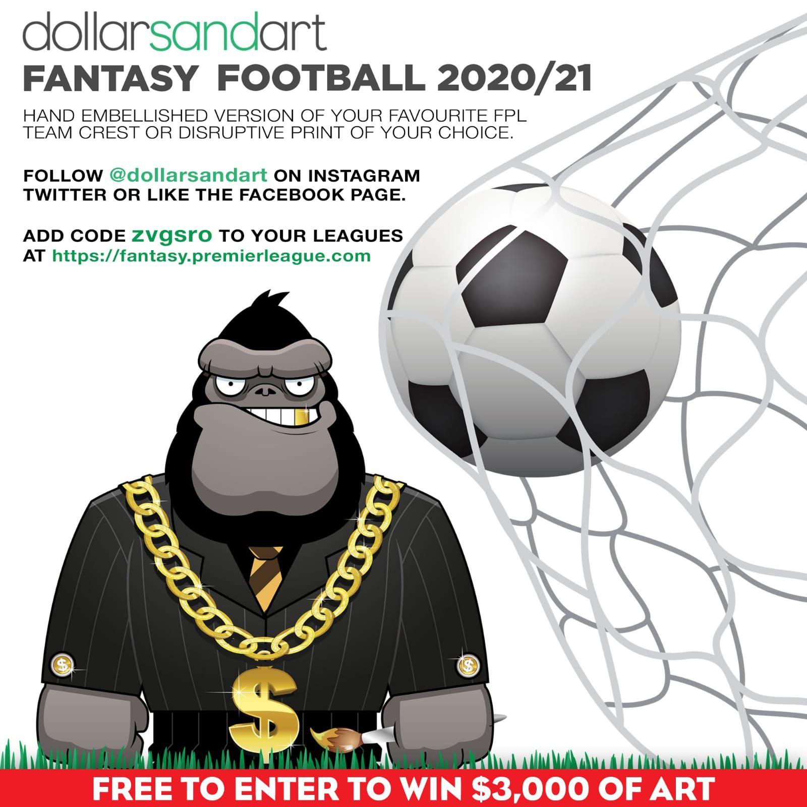 Wins 3000 of Art in 2020 Fantasy football league