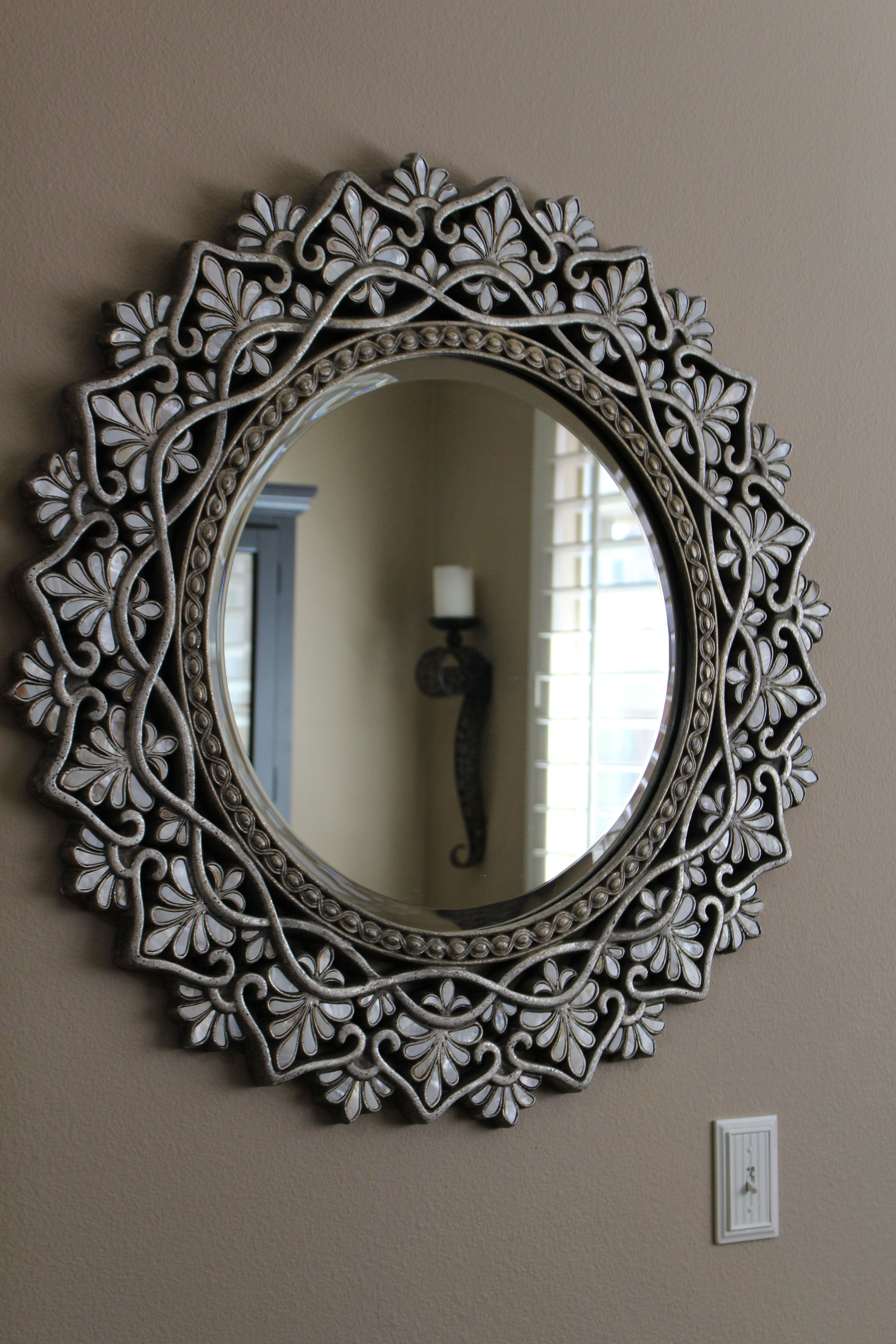 Pier 1 Imports framed mirror. It took me several years just to find ...