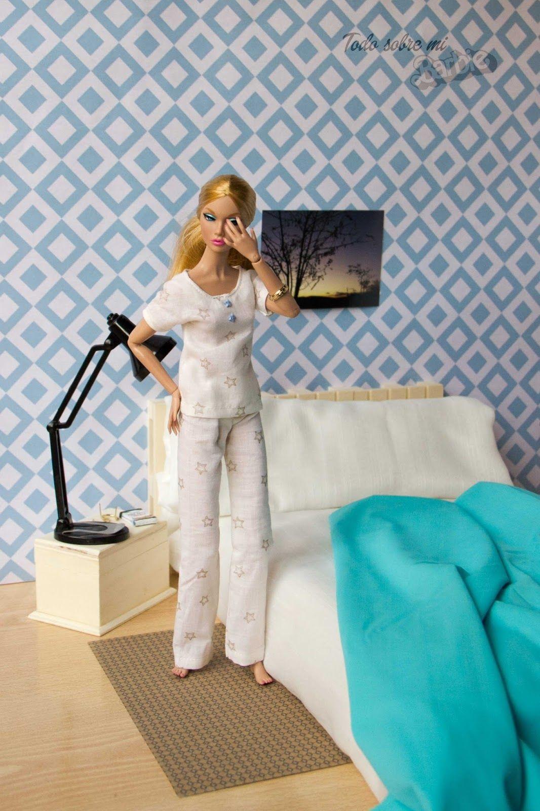 Todo sobre mi Barbie: Pantalón de pijama para Poppy... y Barbie ...