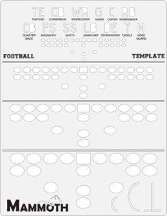 mammoth football play maker template 7 14 http www